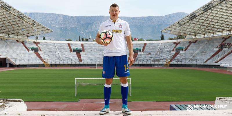 "Josip Radosevic has signed for Hajduk: ""It feels as if I never left"""