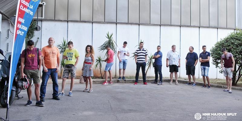 Rasprodan ''dugopoljski kapacitet'' ulaznica za Hajduk - Levski/Sutjeska