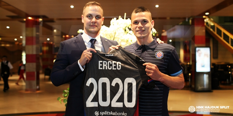 Ante Erceg Hajdukov do 2020. godine!
