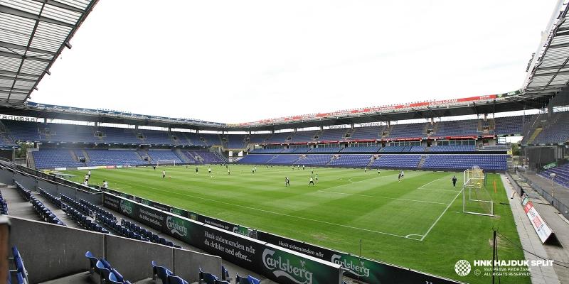 Hajdukovci odradili službeni trening na Brondby Stadiumu
