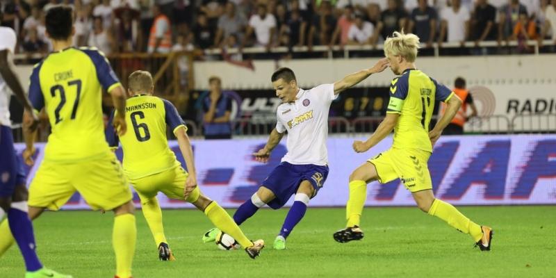 Poljud: Hajduk - Brondby 2:0