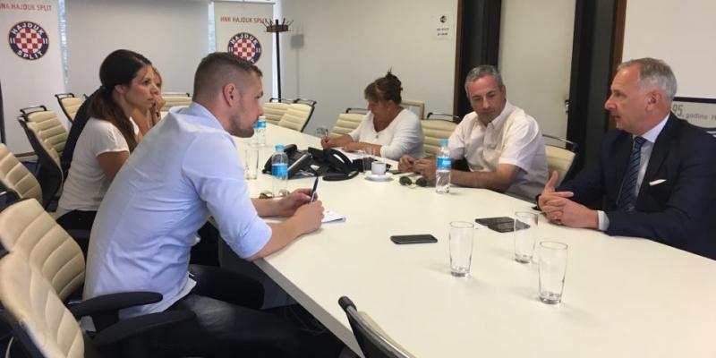 Sastanak na Poljudu: Klub, Grad i policija napravit će sve da susret protiv Evertona prođe u najboljem redu