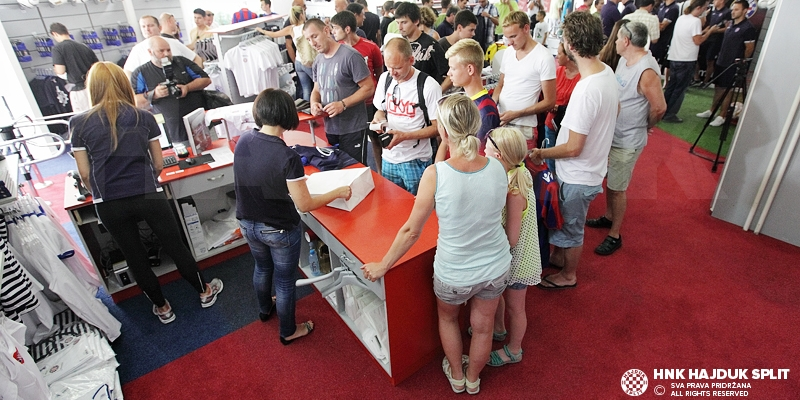 HNK Hajduk raspisao natječaj za voditelja Fan shopa