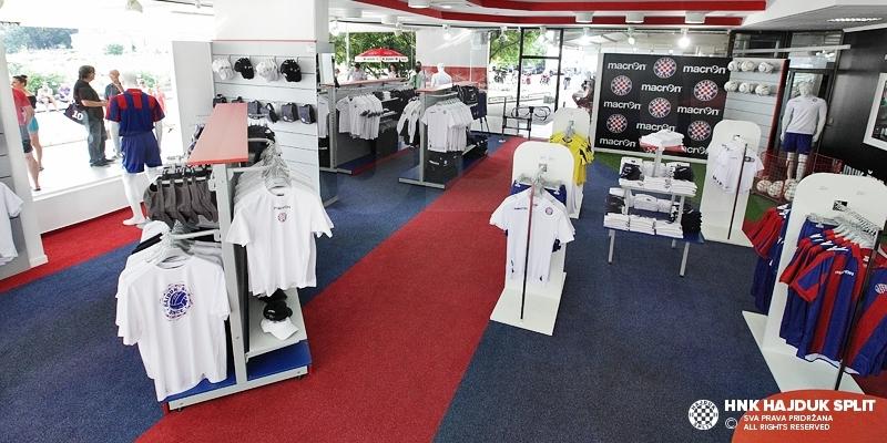 Hajduk Fan Shops winter working hours