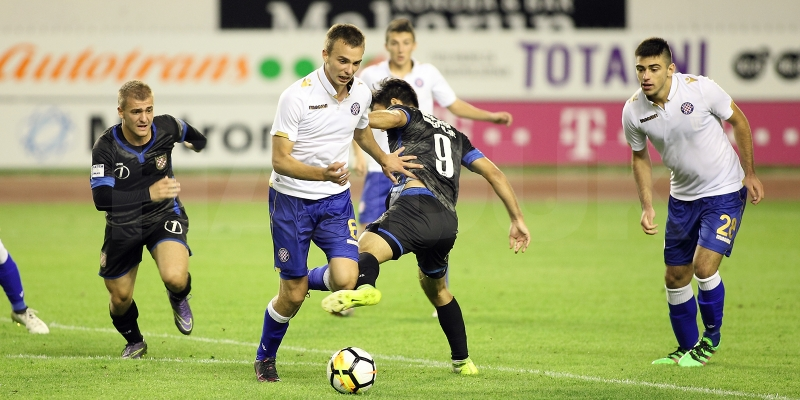 Hajduk II nakon prvog dijela: Mlada momčad prikazuje prepoznatljiv način igre