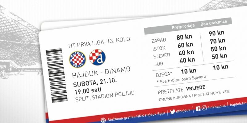 Započela prodaja ulaznica za derbi s Dinamom!