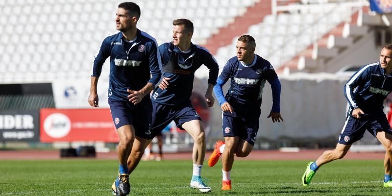 Završne pripreme za Cibaliju: Bijeli odradili trening u dva dijela