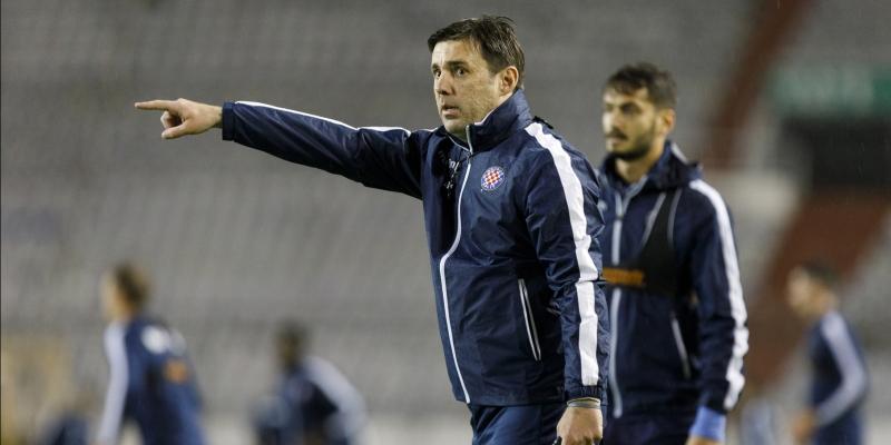 Novi trener Kopić odradio prvi trening s Bijelima