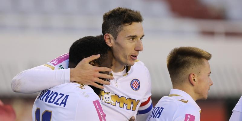 Rapsodija Bijelih za kraj polusezone: Hajduk - Inter-Zaprešić 5:0