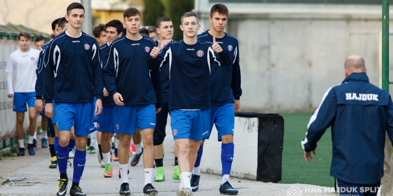 Kadeti odradili prvi trening u 2018.
