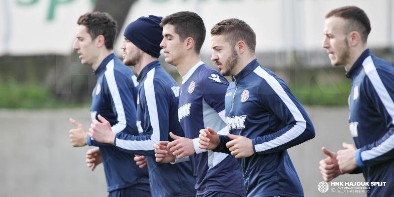 Jutro započelo treningom snage pod vodstvom trenera Febbrarija