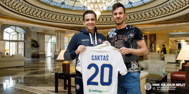 Mijo Caktaš ponovno u Hajdukovom dresu!