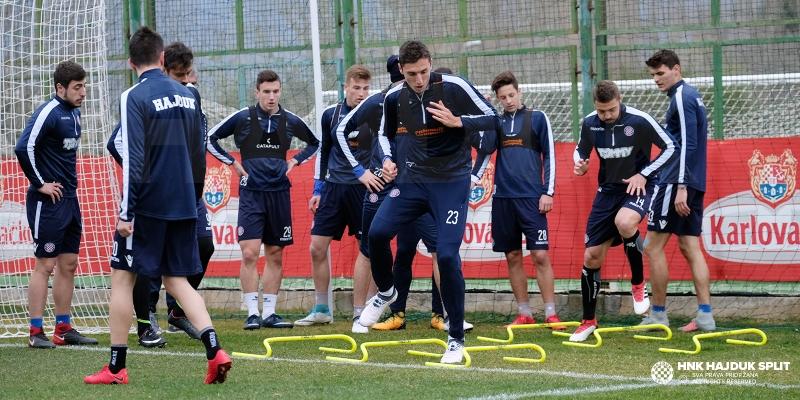 Ponovno na Poljudu: Bijeli odradili prvi trening nakon povratka iz Turske