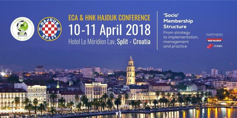 ECA i Hajduk u travnju organiziraju konferenciju u Splitu!