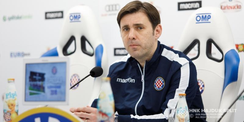 Trener Kopić: Jako vjerujem u ovaj Hajduk, zadovoljan sam odrađenim pripremama