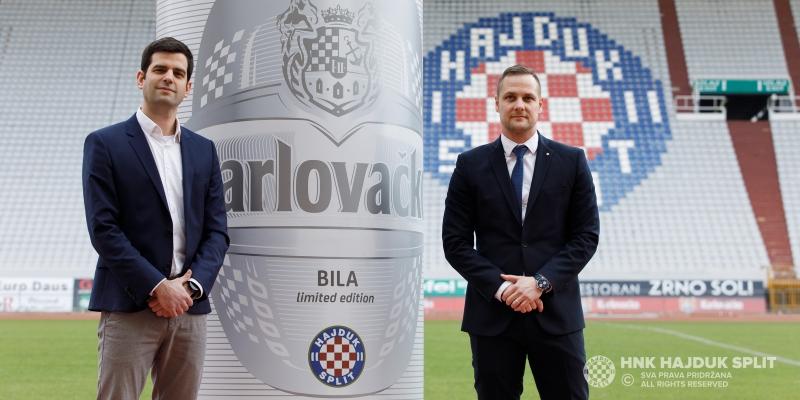 Predstavljena Karlovačko BILA – poklon Hajduku za 107. rođendan