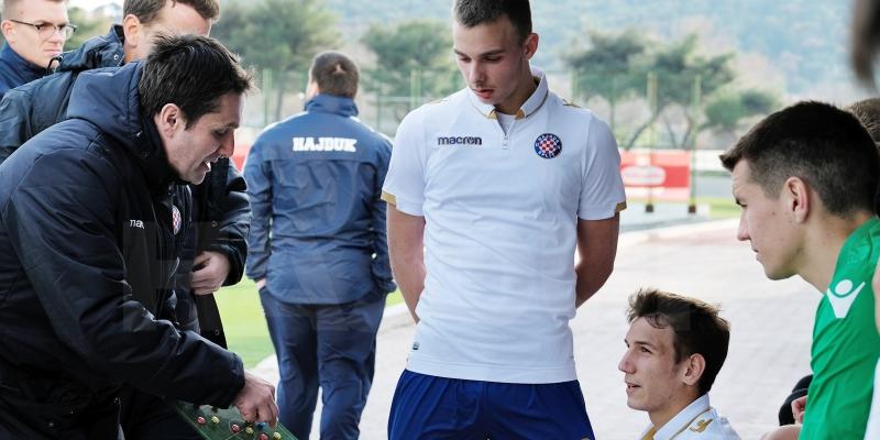 Hajduk II u srijedu protiv Lučkog