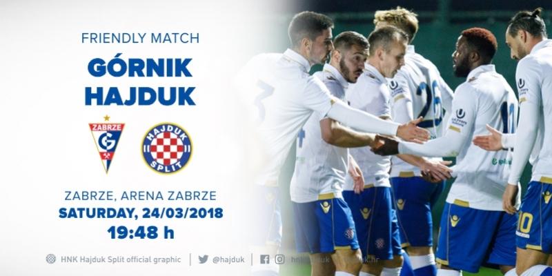 Hajduk to mark 70th anniversary of Gornik Zabrze!