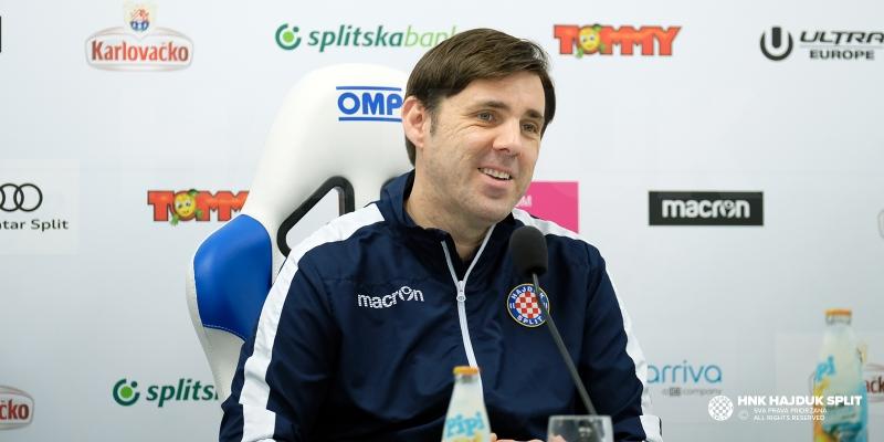 Trener Kopić uoči službene poljudske premijere u 2018. godini