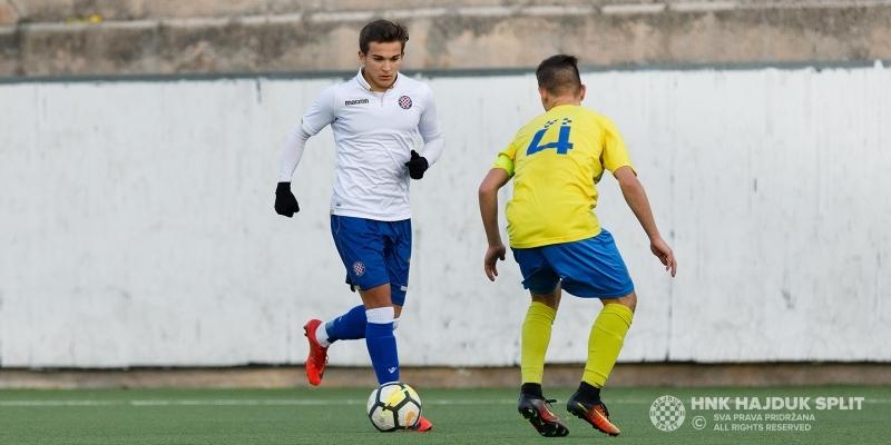 Sedam Hajdukovih kadeta nastupilo za U-17 reprezentaciju