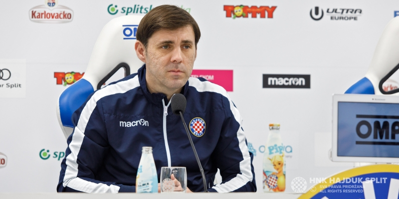 Trener Kopić na konferenciji za medije uoči dvoboja s Rudešom