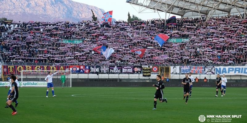 Hajduk danas od 15 sati protiv Rudeša na Poljudu