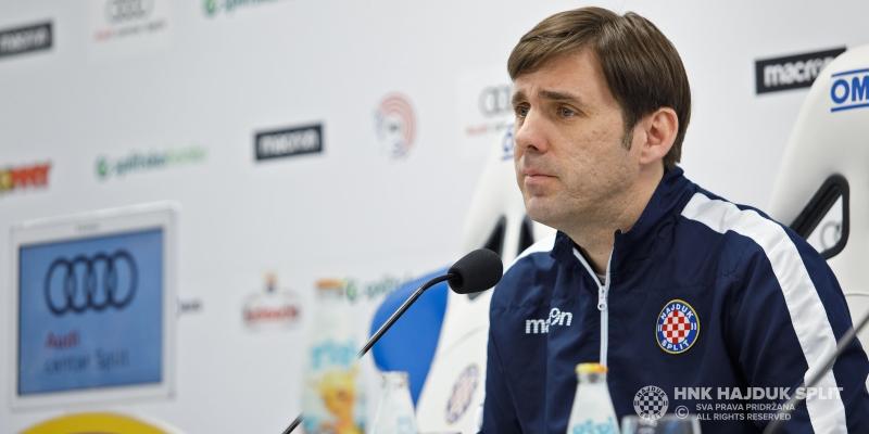 Kopić: Želimo nametnuti visoki ritam od samog početka utakmice