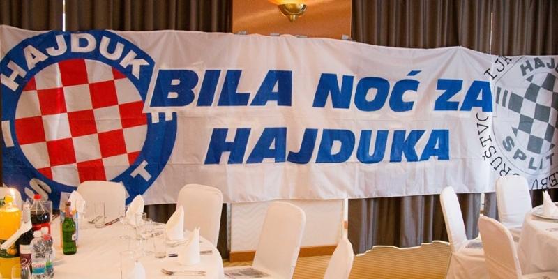 Bila noć za Hajduka 13. travnja u Zagrebu