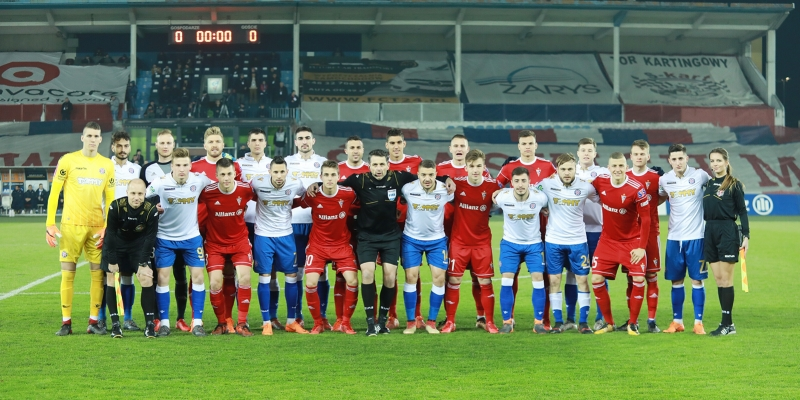 Zabrze: Górnik - Hajduk 3:2