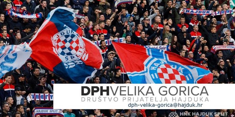 Osnovano Društvo prijatelja Hajduka Velika Gorica