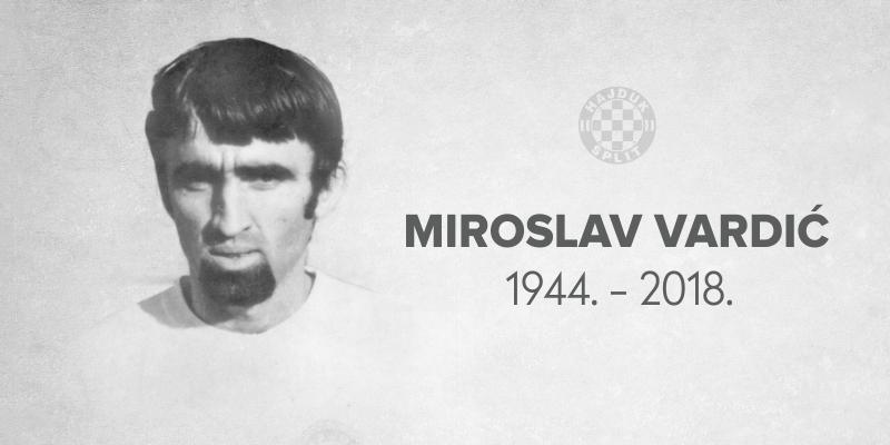 Preminuo Miroslav Vardić