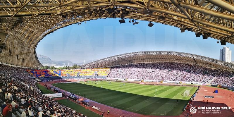 Hajduk protiv Osijeka: Bijeli love tri boda, navijači rekord posjećenosti!