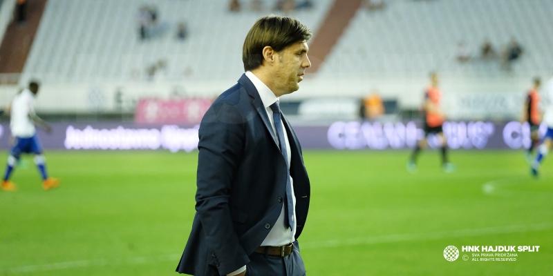 Trener Kopić nakon remija na Poljudu