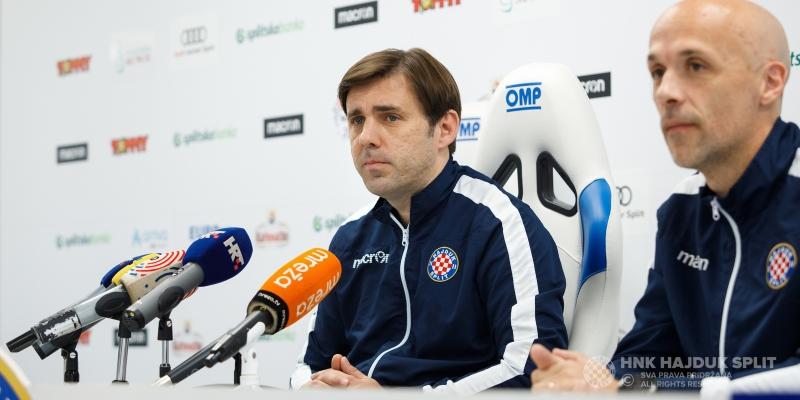 Trener Kopić uoči finala Kupa: Borba za trofej i Hajdukov dres su dovoljan motiv