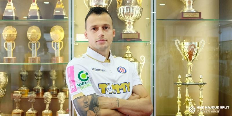 Mirko Ivanovski novi je igrač Hajduka!