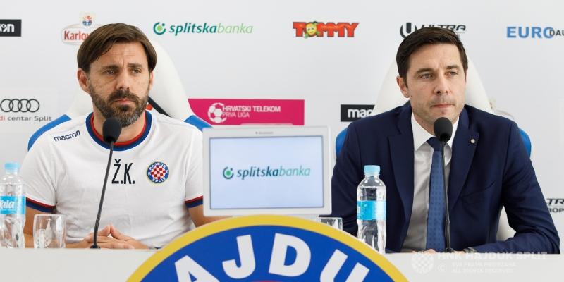 Sportski direktor Bjelanović i trener Kopić uoči početka priprema za novu sezonu