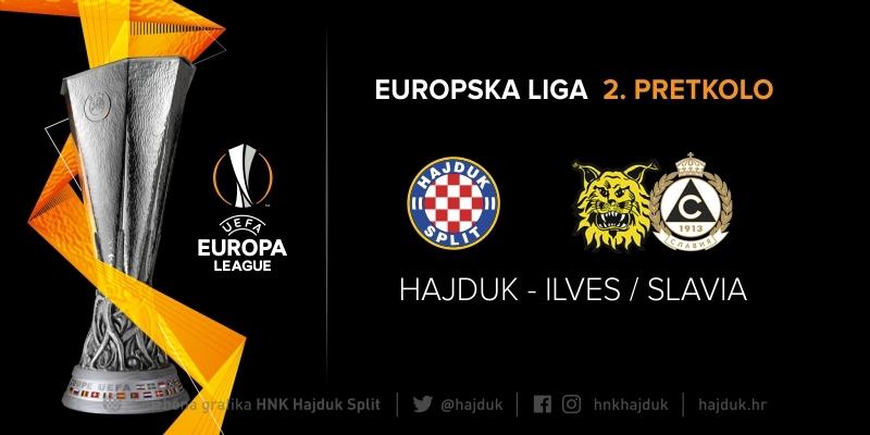 Europska liga: Hajduk u 2. pretkolu protiv pobjednika susreta Ilves Tampere - Slavia Sofija