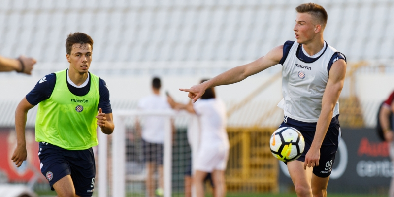 Intensively from the very beginning: Hajduk doing double training sessions this week