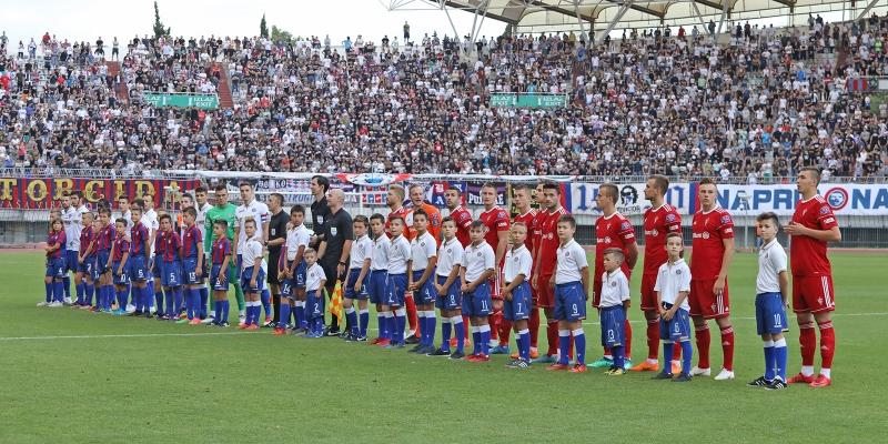 Poljud: Hajduk - Gornik Zabrze 4:0