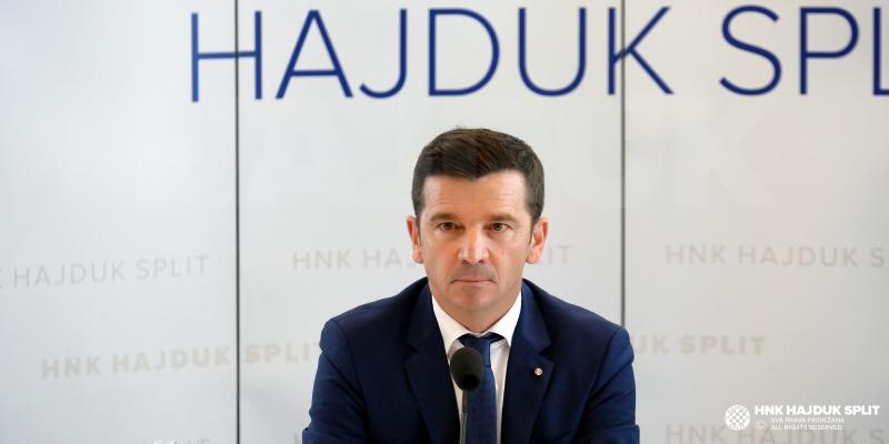 Predsjednik Huljaj: Pobjeđivanje mi je u krvi, naš cilj je da Hajduk bude najbolji