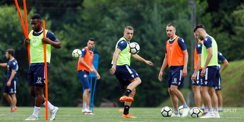 Pre-season preparations, day 18: Four players training separately