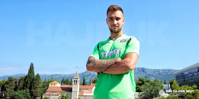 Josip Posavec is a new Hajduk's goalkeeper!