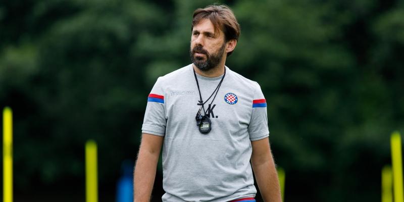 Trener Kopić nakon trećeg tjedna priprema: Zadovoljan sam, ali ima još prostora za napredak