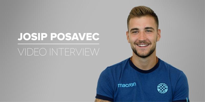 Pogledajte video-intervju: Novi vratar Hajduka Josip Posavec