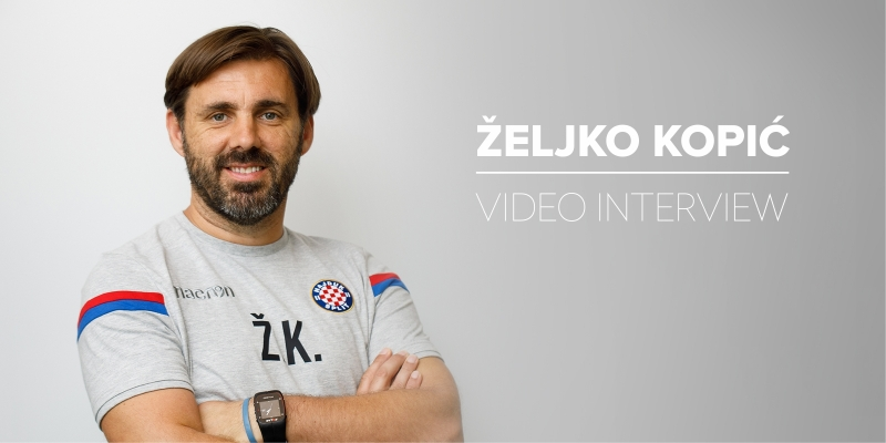 Video-intervju: Trener Hajduka Željko Kopić