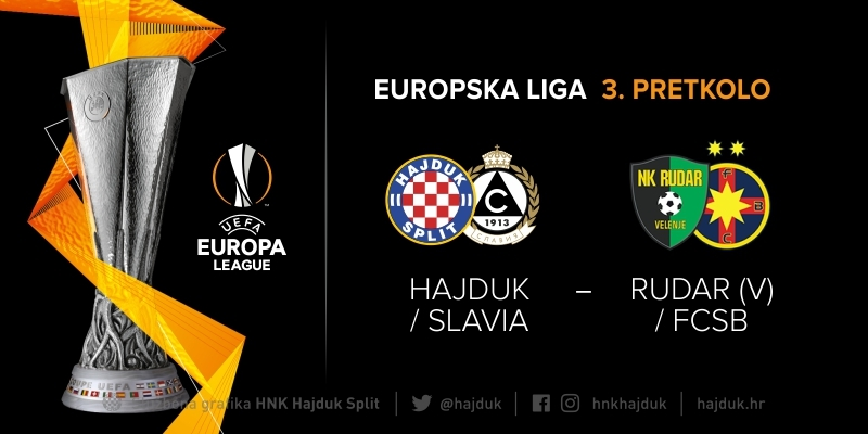 Europa League QR3 draw: Hajduk's potential next opponent Rudar or FCSB