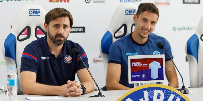 HNK Hajduk - PFC Slavia Sofia Pre - match press conference