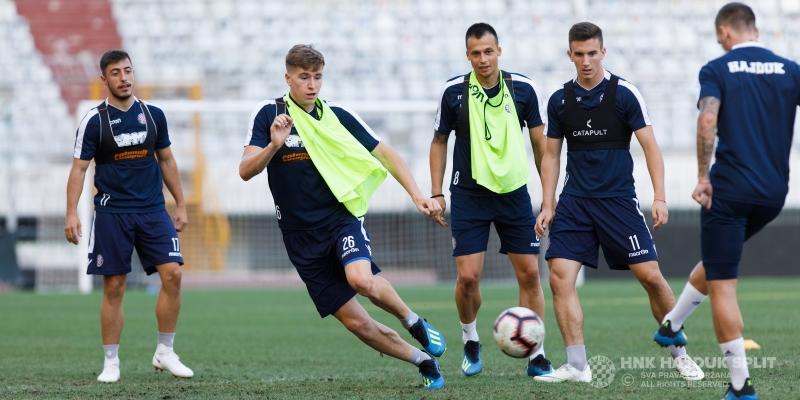 Bijeli odradili posljednji trening uoči utakmice sa Slavijom