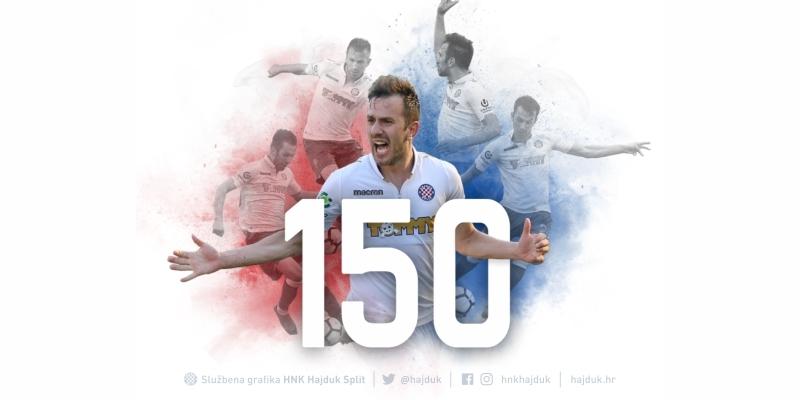 Mijo Caktaš upisao 150. službeni nastup za Hajduk