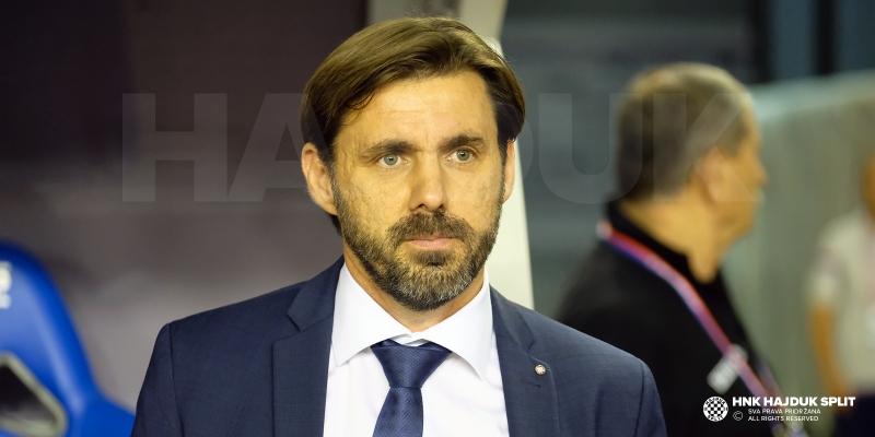 Trener Kopić nakon utakmice Hajduk - FCSB